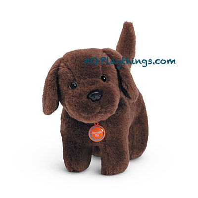 Fit For American Girl Posable 2014 RETIRED Brown /& White BKB79 Corgi Dog Plush