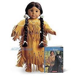 "American Girl KAYA Belt for Adorned Deerskin Outfit 18/"" Doll"