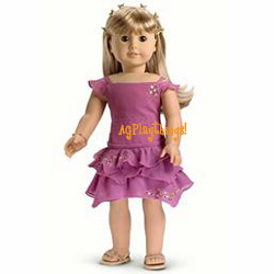 Dolls & Bears American Girl Doll Retired Sparkly Outfit Angel American Girl Doll Clothing & Fashion Accs