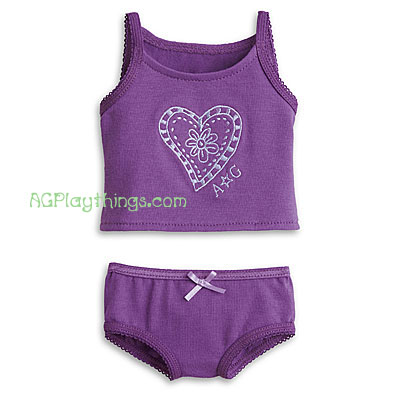 Brand New American Girl Tank /& Brief Set With Tank Top