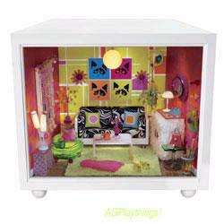 Dollhouse Miniature NAPKIN HOLDER DISPENSER American Girl AG Mini/'s LIL/'S DINER