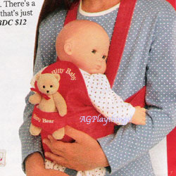 Baby doll carriers at target for pinterest