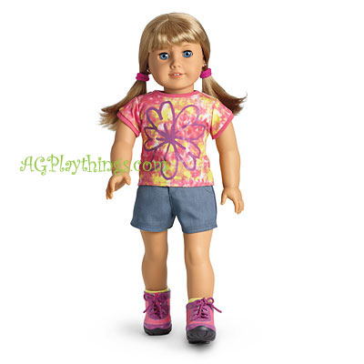 American Girl 2012 Casual Chic Outfit Stretch Corduroy Pants for Doll Only